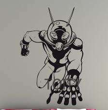 Ant Man Wall Vinyl Poster Superhero Sticker Comics Decal Dorm Home Room Interior Art Decoration Mural H 88cm X W 57cm Decoration Murale Stickers Comicsposter Superhero Aliexpress