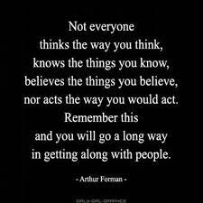 think quote image not everyone thinks the way you think know the th