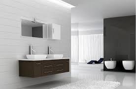 modern bathroom double vanity image
