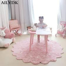 Nordic Baby Crawling Rug Kids Girls Room Decor Floor Carpet Round Play Rugs Gym Activity Game Mat And Carpets For Living Room Carpets Online Interface Carpet From Fugao001 58 97 Dhgate Com