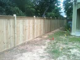 6ft Wood Privacy Fence Gatlin Fence