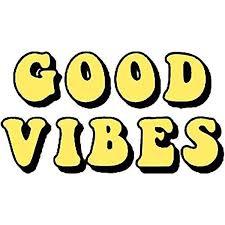 Amazon Com Good Vibes Tumblr Aesthetic Yellow Sticker Decal Window Bumper Sticker Vinyl 5 Automotive