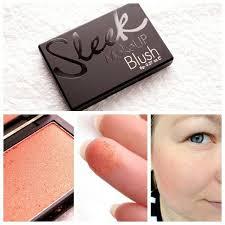 sleek makeup blush rose gold 8g