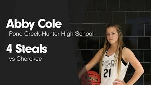 4 Steals vs Cherokee - Abby Cole highlights - Hudl
