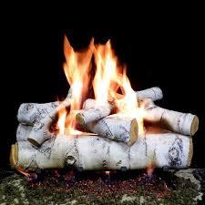 24 inches sierra birch fire gas logs