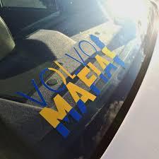Swedish Flag Decal Volvo Mafia