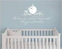 Amazon Com Ke10nce A Dream Is A Wish Your Heart Makes Cinderella Wall Decal Kitchen Dining
