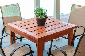 diy outdoor dining table for 20