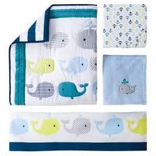 circo 4 pc crib bedding set whales