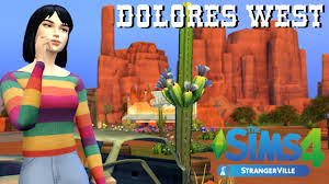 DOLORES WEST| Return to Strangerville: Create a Sim - YouTube