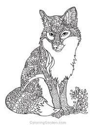De 435 Beste Afbeeldingen Van Coloring Wolf Fox In 2020