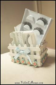Popsicle Stick Craft Tutorial White Picket Fence Make Up Box Violet Lebeaux Tales Of An Ingenue
