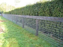 Silver Galvanized Iron Woven Wire Fences Mm Industries Private Limited Id 19831811773