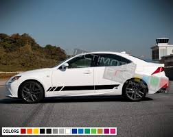 Stickers Decal For Lexus Is Stripe Body Kit Replacement Door Sticker Racing Rims Carbon Stripe Kit Lexus Jeep Wrangler Rubicon