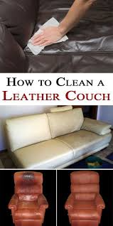 how to clean a leather couch magical