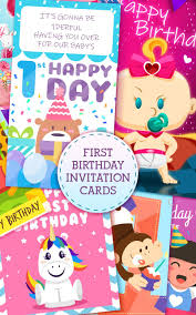 Primer Cumpleanos Tarjetas De Invitacion For Android Apk Download