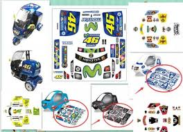 At3 Car Sticker Body Shell Decals For Tamiya Rc T3 01 Tricycle Dancing Rider Trike 57405 May For Rc Car Truck Body Tractor Parts Accessories Aliexpress