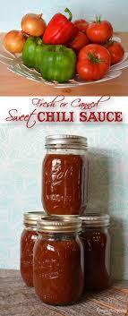 sweet chili sauce recipe