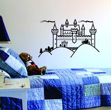 Castle Wall Decal Fortress Sticker Decor Decals Market