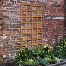 Forest 6 X 2 Heavy Duty Square Garden Trellis Fence Panel 1 83m X 0 61m B M