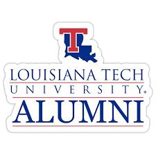 Louisiana Tech Bulldogs 4 Inch Laser Cut Alumni Vinyl Decal Sticker Walmart Com Walmart Com