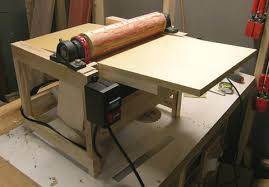 krt woodworking built drum sander