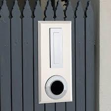 Milkcan Picket Fence Mount Letterbox Light Cream Chromed Abs Fittings Key Lock Ebay