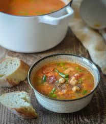smoky pea red lentil vegetable soup