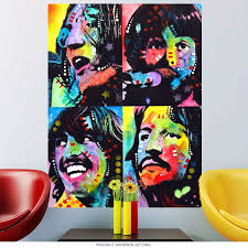 Beatles Let It Be Dean Russo Pop Art Wall Decal At Retro Planet