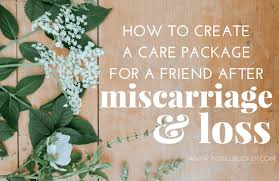 gift ideas for a friend after miscarriage