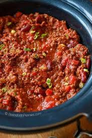 easy crock pot chili recipe spend