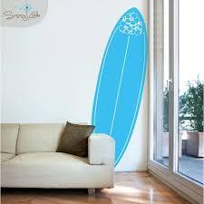 Pura Vida Surfboard Vinyl Wall Decal Surfboard Wall Vinyl Wall Decals Wall Decals