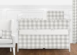 gray and white rustic woodland flannel