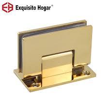 glass door bathrooms gold stainless
