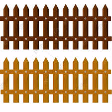 Wooden Fence Garden Fences Brown Png Transparent Clipart Image And Psd File For Free Download