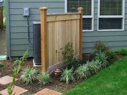 How To Hide Your Air Conditioning Unit 5 Outdoor Design Ideas Backyard Fences Outdoor Design Garden Fencing