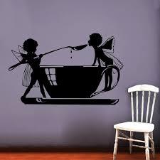 Kids Favorite Princess Silhouette Wall Sticker Living Room Vinyl Decal Removable Waterproof Fashionable Home Decor Home Decor Wall Stickersilhouette Wall Sticker Aliexpress