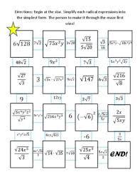 logarithmic equations maze answer key