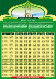 Календарь Рамазана - РАСПИСАНИЕ - Report.az