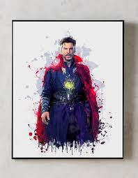 Doctor Strange Print Dr Strange Art Avengers Print Etsy