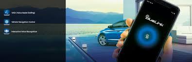 Blue Link Connected Car Technology Hyundai Motor India