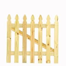 Buy From Lowe S 3 5 Ft X 3 5 Ft Pine Gothic Wood Fence Gate Modernfencefarmhouse Hacks Design