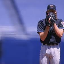 Randy Johnson threw a baseball through the bird of my heart ...
