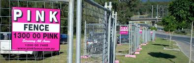 Pink Fence Pty Ltd Temporary Fence Hire Brisbane