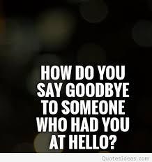 sad love goodbye quotes pictures