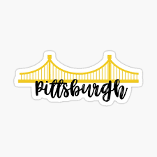 Pittsburgh Stickers Redbubble