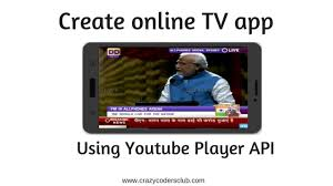 Create online TV Application | Android App using YouTube API - YouTube