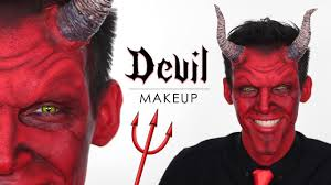 devil makeup tutorial for