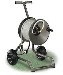 two wheel garden hose from rapid reel