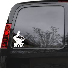 Amazon Com Auto Car Sticker Decal Gym Man Fitness Bodybuilding Sports Truck Laptop Window 5 By 7 Unique Gift 1445igc Home Kitchen